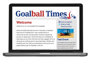 goalball times newsletter